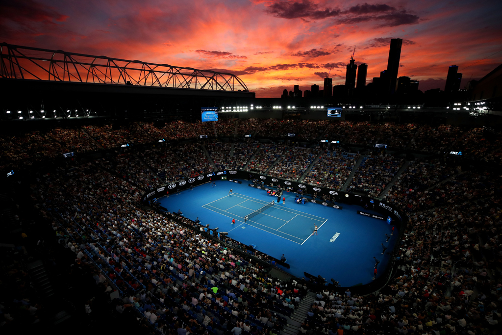 Gallery The Story In Pictures Of The 2019 Australian Open Women S Final Tennis365 Com