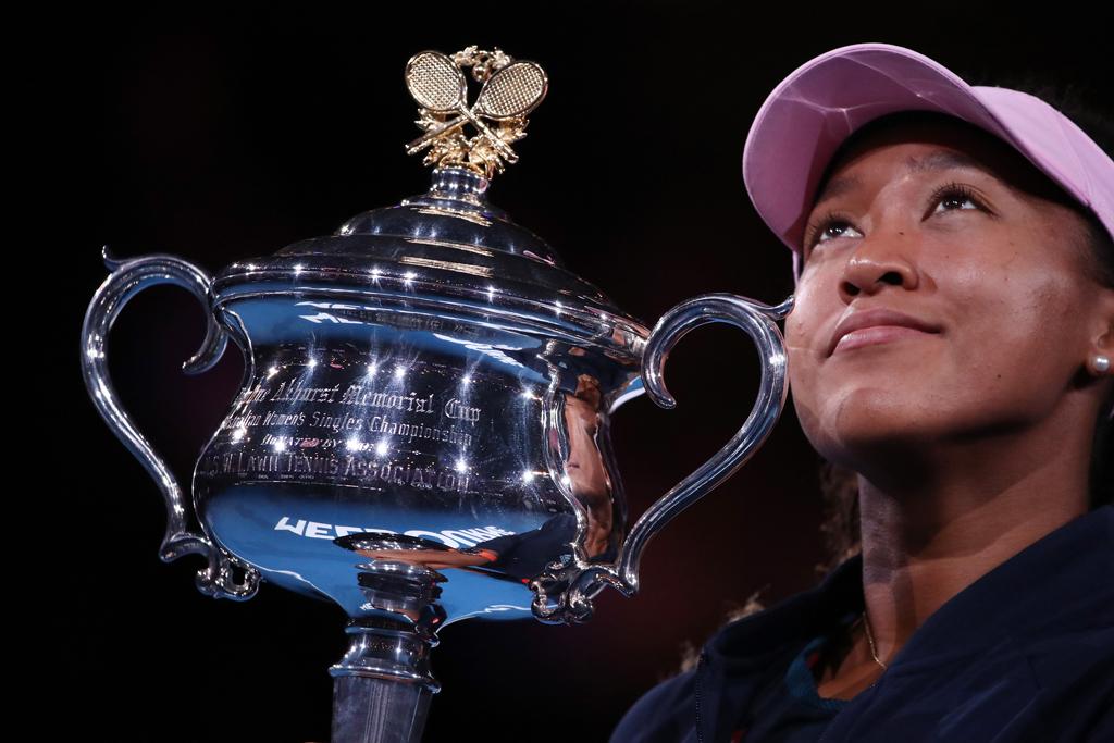 Naomi Osaka Australian Open trophy