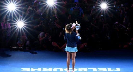 Naomi Osaka spotlight