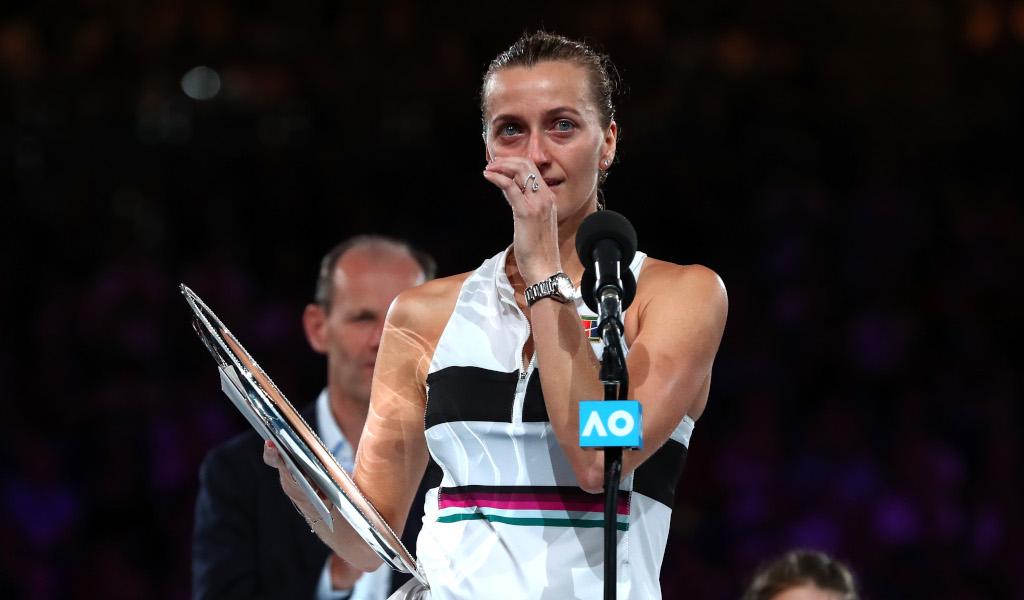 Petra Kvitova runner-up speech