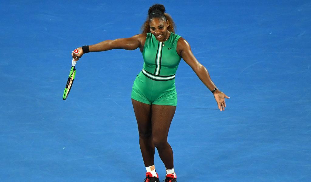 Serena Williams dancing