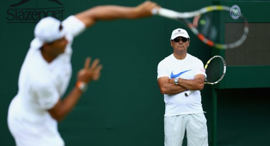 拉斐尔纳达尔 and Toni Nadal coaching