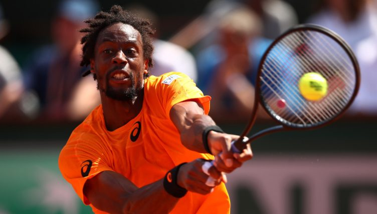 Gael Monfils in action