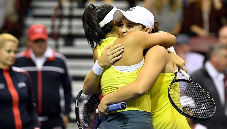 Ashleigh Barty Fed Cup