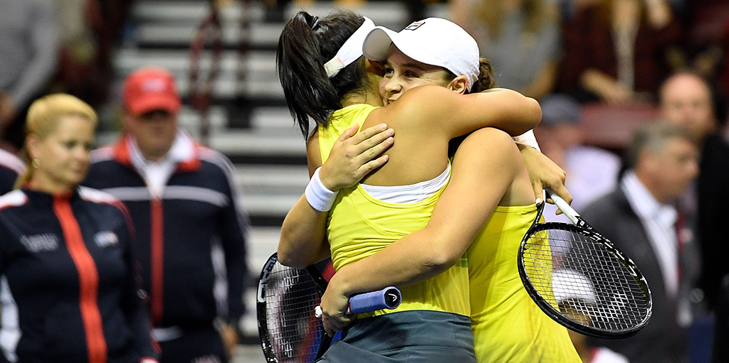 Ashleigh Barty Fed Cup