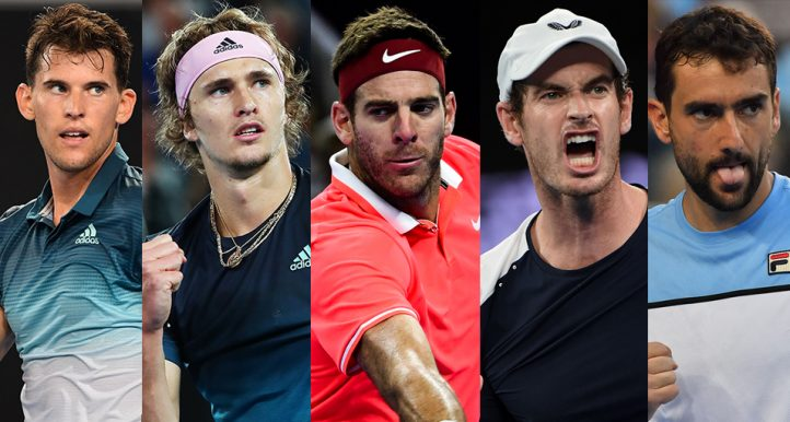 Who can take title from Djokovic Federer and Nadal