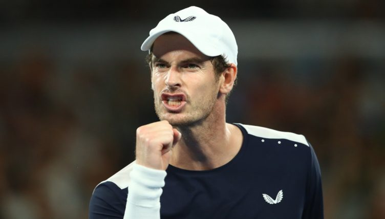 Andy Murray pumped up