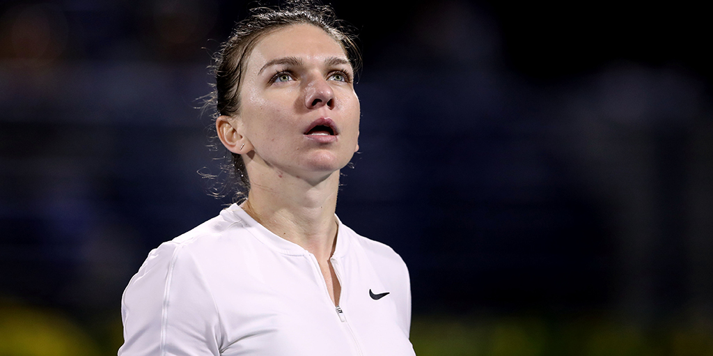 Simina Halep deep in thought