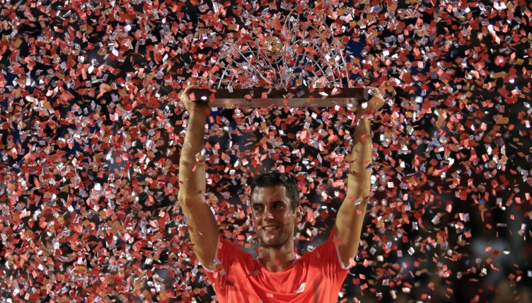 Laslo Djere with Rio Open title