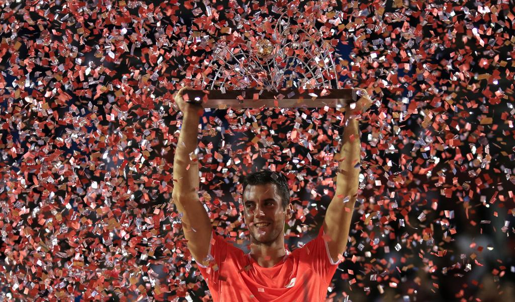 Laslo Djere with Rio Open title