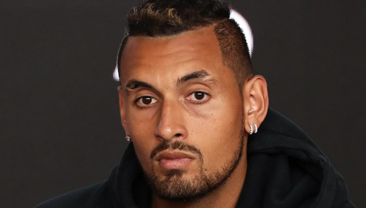 Nick Kyrgios disinterested