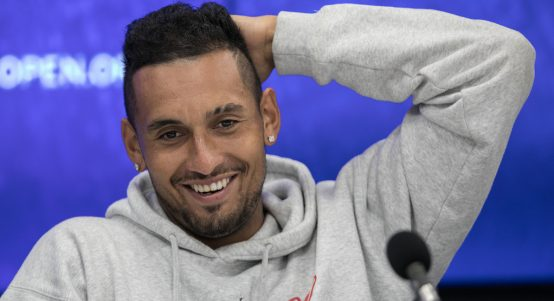 Nick Kyrgios press conference