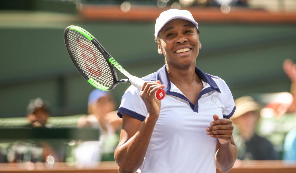 Venus Williams in action