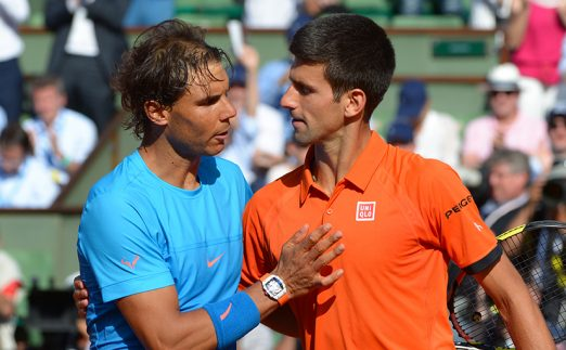 Rafael Nadal and Novak Djokovic - Roger Federer makes his choice