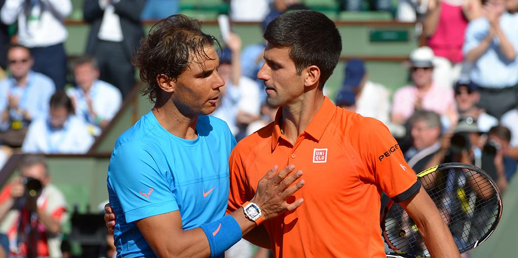 Rafael Nadal and Novak Djokovic - Roger Federer makes his choice
