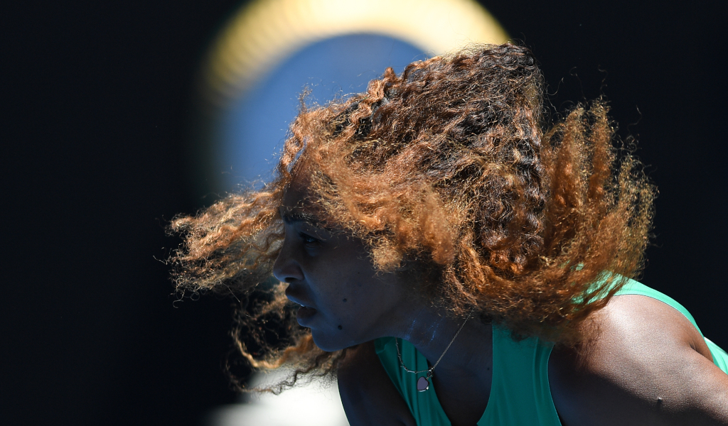 Serena Williams hair