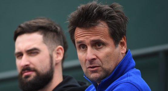 Fabrice Santoro Milos Raonic coach PA