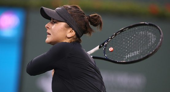 Bianca Andreescu at Indian Wells PA