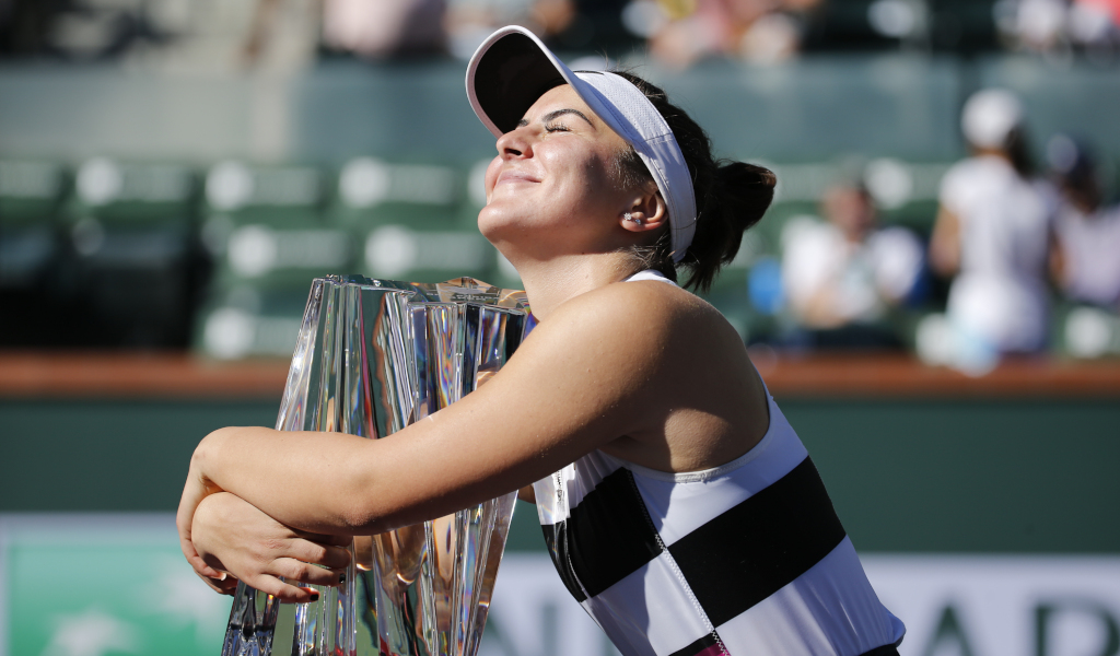 Bianca Andreescu Indian Wells champion