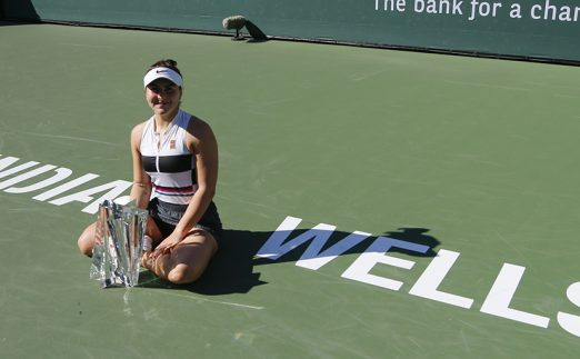 Bianca Andreescu - boost in WTA rankings