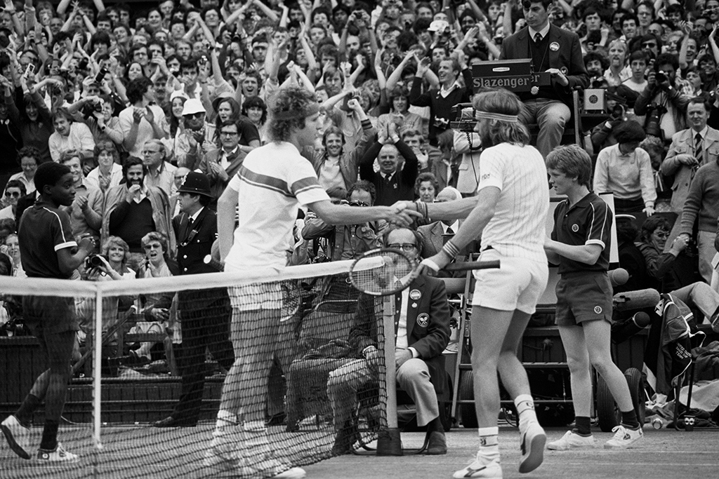 Bjorn Borg John McEnroe Wimbledon PA