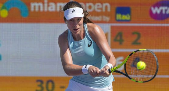 Johanna Konta at Miami Open