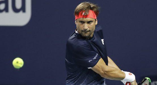 David Ferrer at Miami Open PA