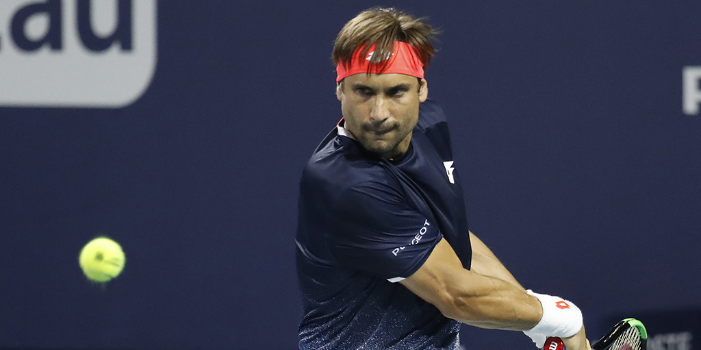 David Ferrer at Miami Open PA