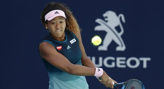 Naomi Osaka at Miami Open PA