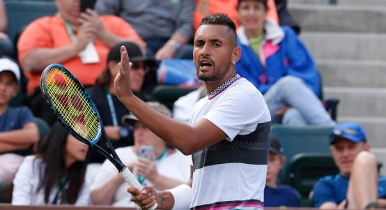 Nick Kyrgios sarcastic applause