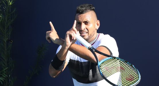 Nick Kyrgios theatrics