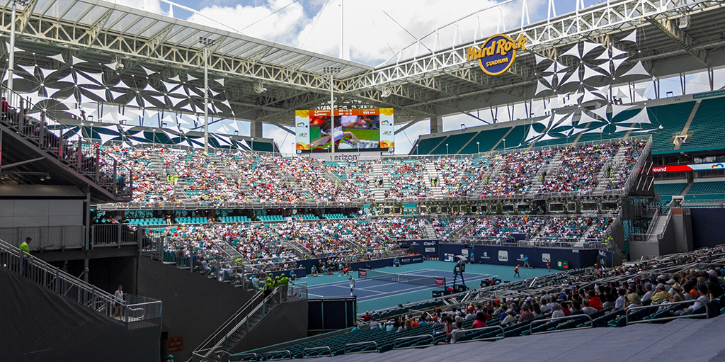 Miami Open Stadium Court PA