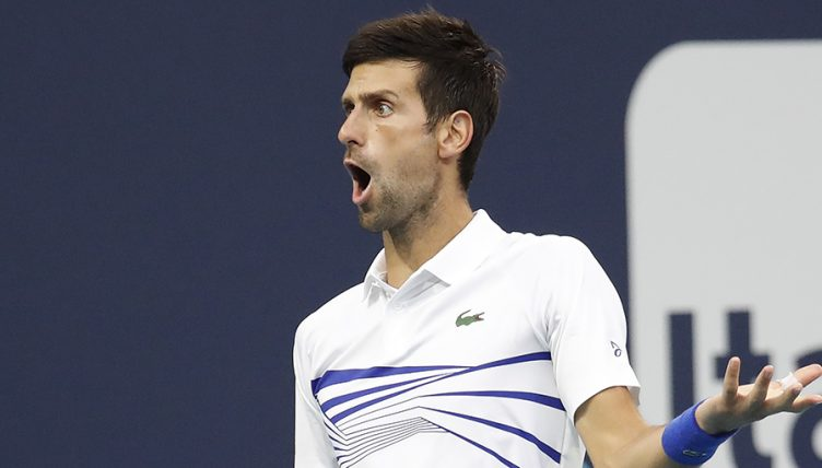Novak Djokovic stunned PA