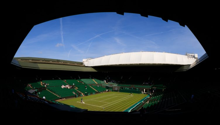 Wimbledon Centre Court general view