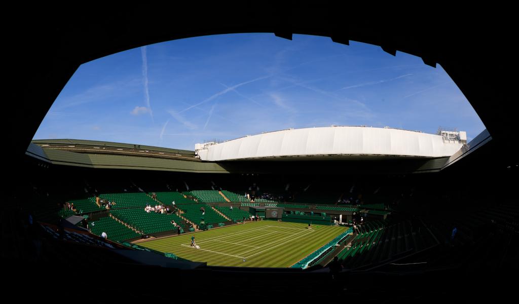 Wimbledon Centre Court general view
