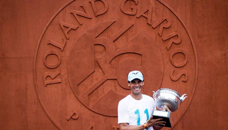 Rafael Nadal success on clay PA