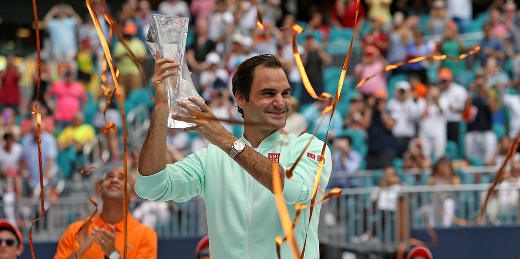 Roger Federer climbs atp rankings after Miami Open win PA