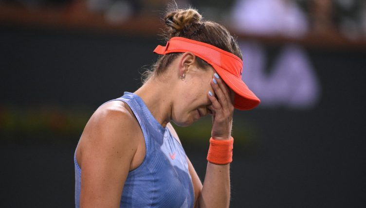 Belinda Bencic disappointed