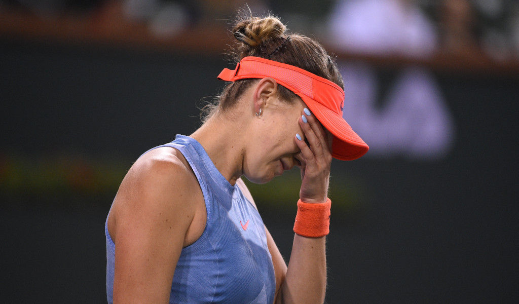 Belinda Bencic disappointed
