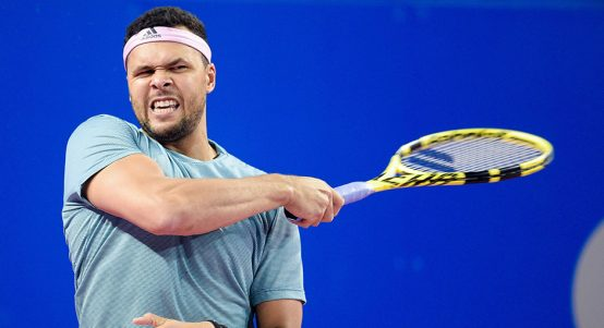 Jo-Wilfried Tsonga - too good for Kyle Edmund in Marrakesh