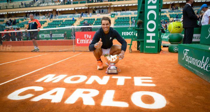 Rafael Nadal Monte-Carlo Masters trophy