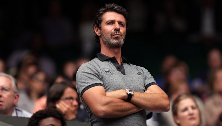 Patrick Mouratoglou - Serena Williams' coach PA