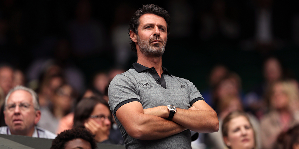 Patrick Mouratoglou - Serena Williams' coach PA
