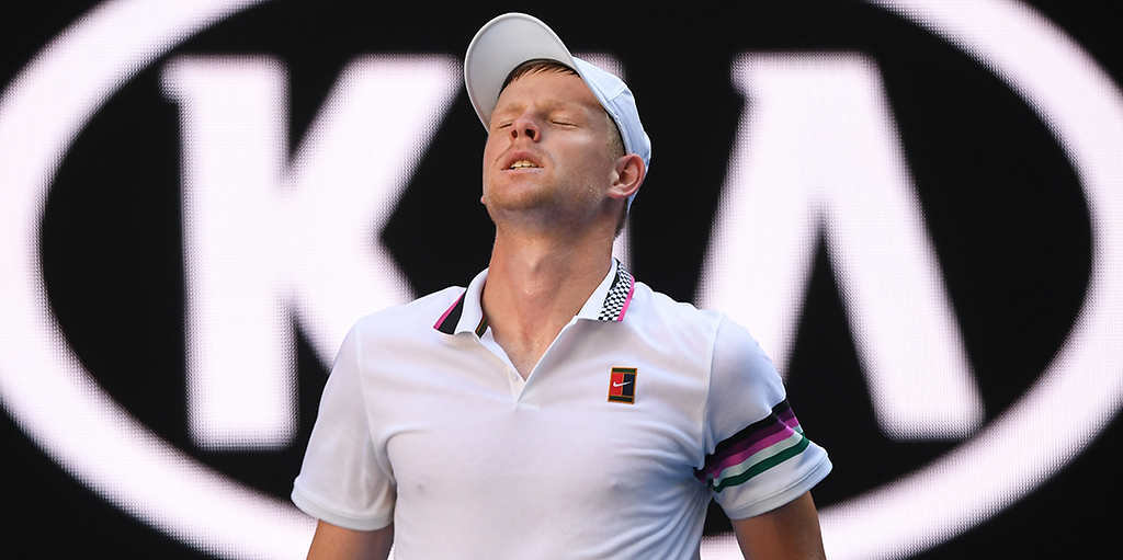 Kyle Edmund dejected PA