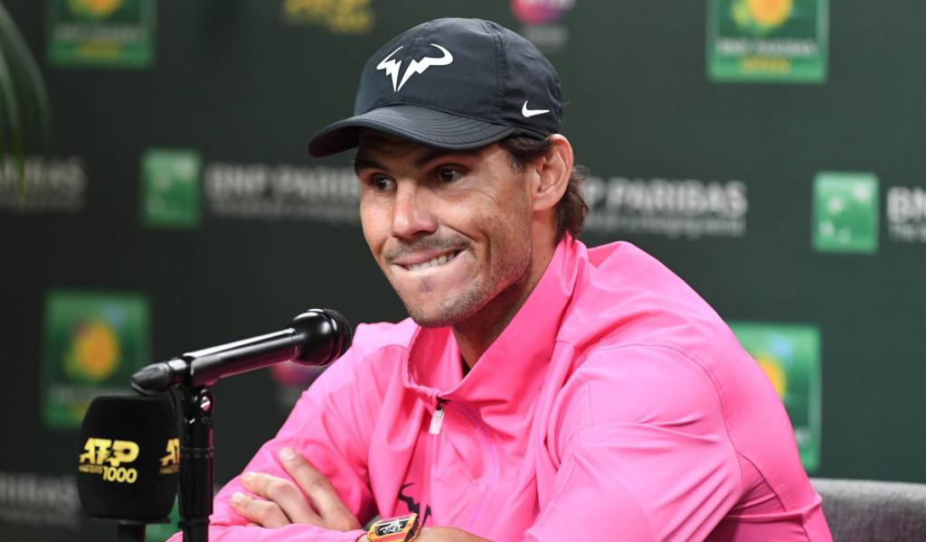 Rafael Nadal concerned