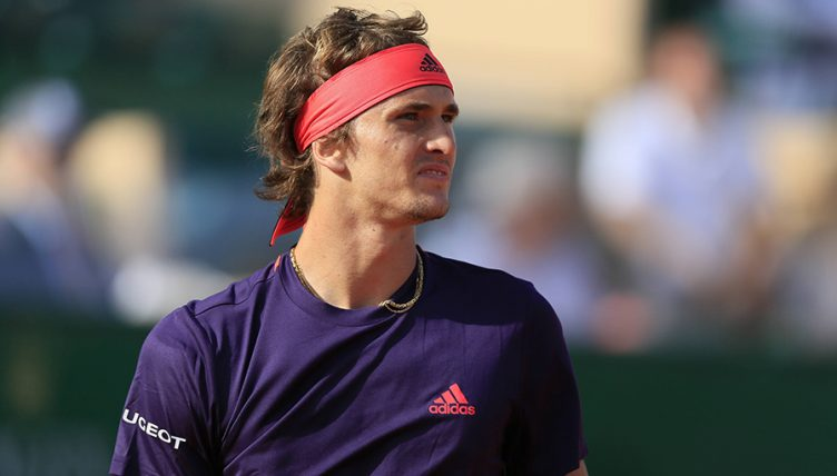 Alexander Zverev at the Monte Carlo Masters PA
