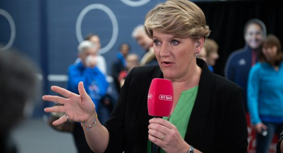 Clare Balding BT Sport Fed Cup coverage