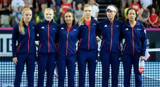 Great Britain Fed Cup squad