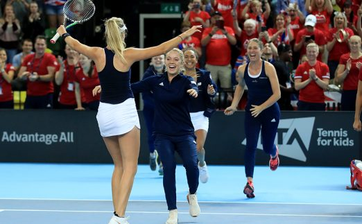 Great Britain Fed Cup PA