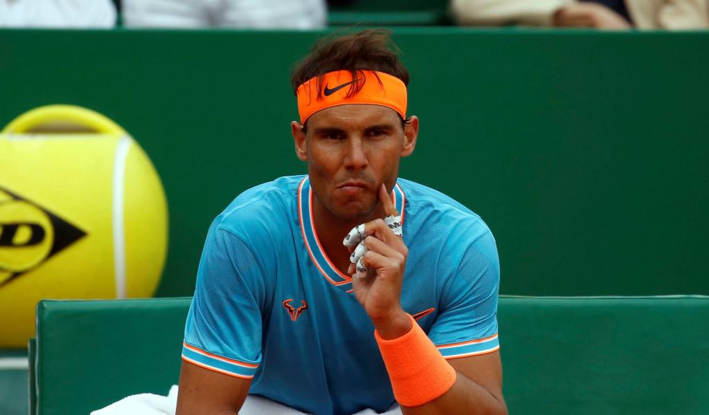 Rafael Nadal pensive